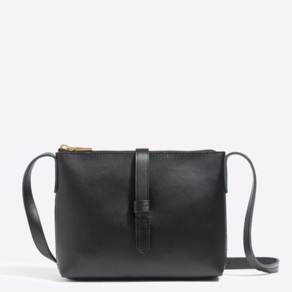 J. Crew Handbags - • J.Crew • Ryann Crossbody Bag in Black